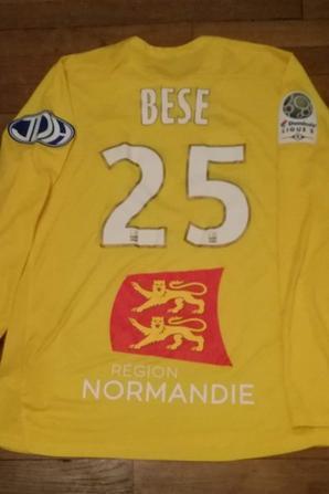 225ième maillot porté par Barnabas BESE