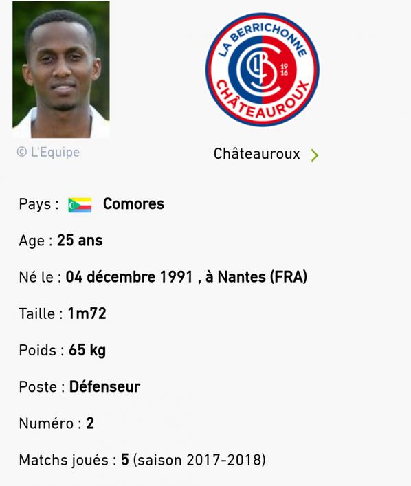 240 ième maillot portés par Chaker ALHADHUR lors du match de coupe de la ligue face à Clermont