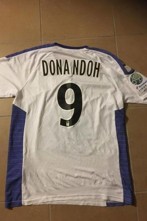 245 ième maillot porté par Ande DONA NDOH face à Orléans