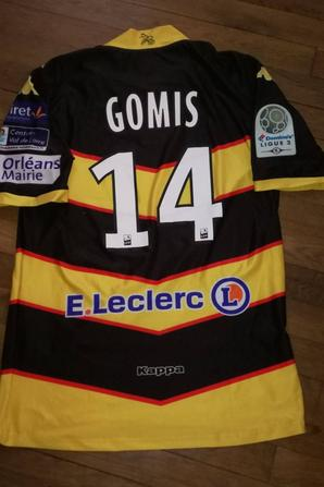248 ième maillot porté par Arthur GOMIS