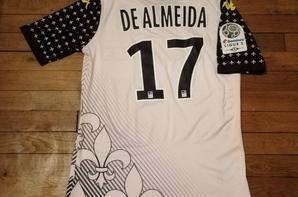 250 ième maillot porté par Mayron DE ALMEIDA