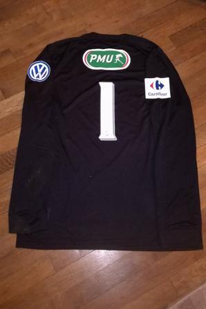 252ième maillot porté par Louis SOUCHAUD lors du match face à CHOLET