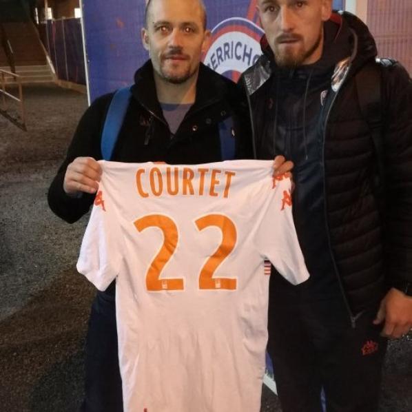264ième maillot porté par Gaëtan COURTET à Châteauroux