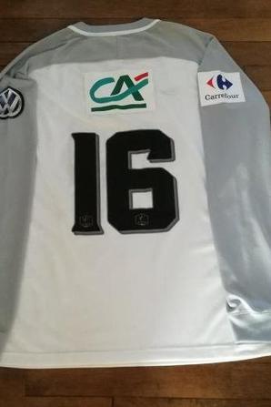 265ième maillot porté par Sofiane KHADDA à St Malo en 32ième de finale de coupe de france