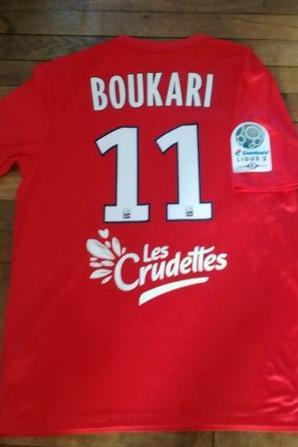 266ième maillot porté par Razak BOUKARI face à Lorient