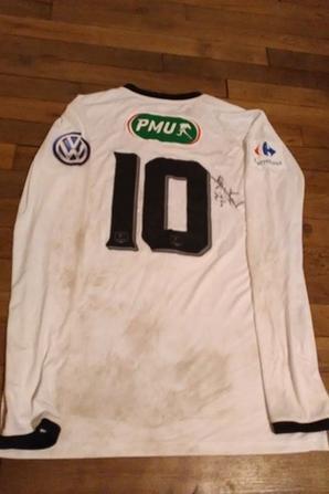 269ième et 270ième maillot porté par John POPELARD et Thomas HENRY lors de la victoire à Auxerre face à Avallon en 32ième de finale de coupe de france