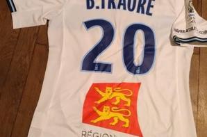 271ième maillot porté par Baba TRAORÉ lors du match à Orléans