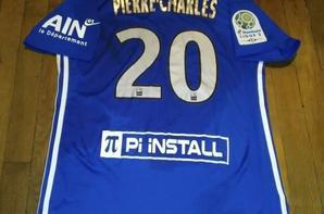 275ième maillot porté par Jordan PIERRE-CHARLES  face à Châteauroux