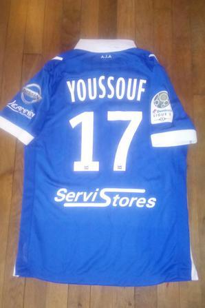 277ième maillot porté par Youssouf BENDJALOUD