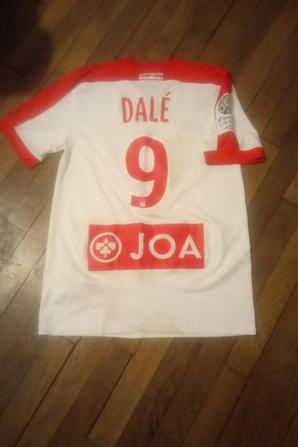 278ième maillot porté par Maurice Junior DALE à Châteauroux