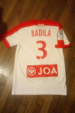 280ième maillot porté par Tobias BADILA à Châteauroux