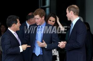 The Duke & Duchess Of Cambridge & Prince Harry Attend The Inauguration Of Warner Bros Studios Leavesden