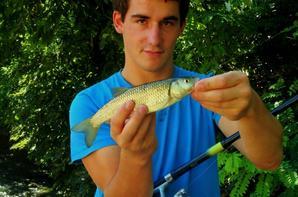 Pêche avec ma copine aux chevaines