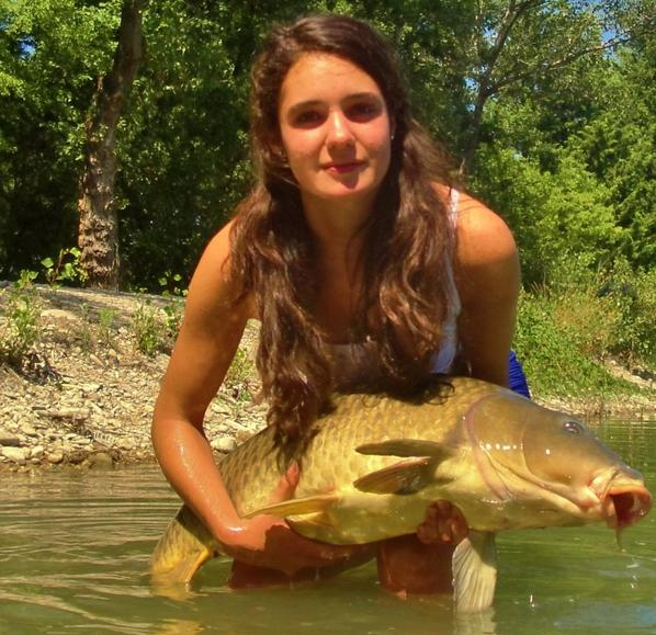 Pêche à la carpe avec ma copine partie 2