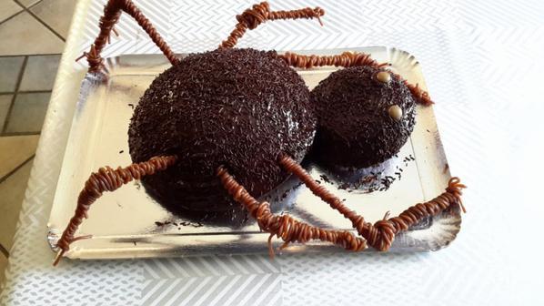 le gâteau Halloween pour ma petite fille