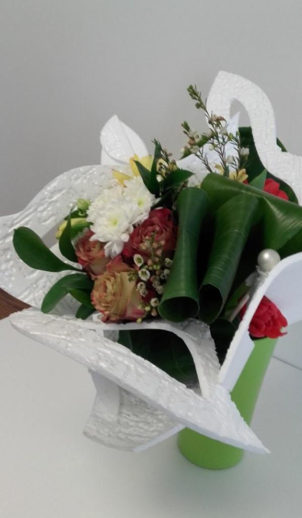 bouquet thème le polystyrène