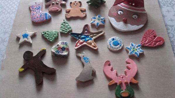 Travail de mes petits élèves pour Noël