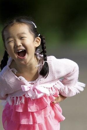 Un sourire d'enfant sa vous rend de bonne humeur pour la journée