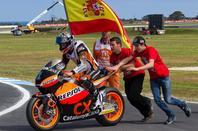 Marc Marquez champion du monde moto2 2012 / Marc Marquez campeon del mundo moto2 2012