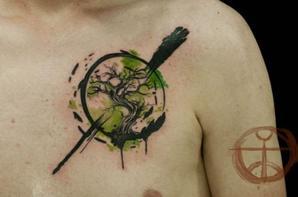 Tattoos abstraits
