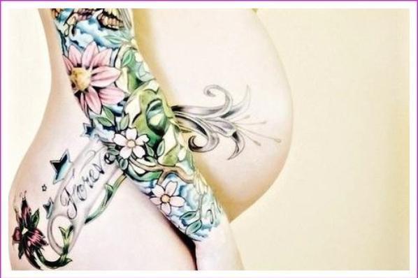 Futures mamans tatouées *-*