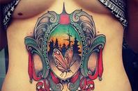 """Underboobs"" Tattoo"