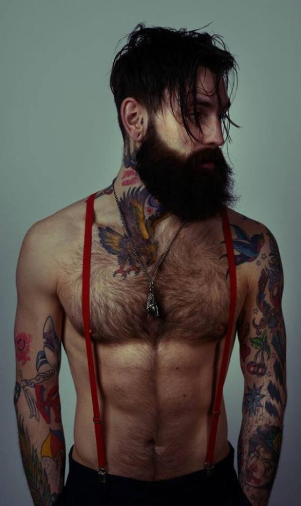 Et les barbus, ça vous botte les girls? :)