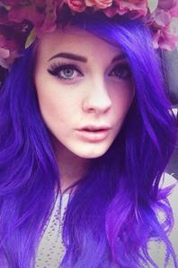 Cheveux bleus? *-*