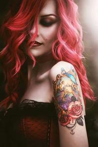 Cheveux colorés nº2