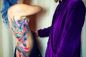 Tatouage aquarelle!