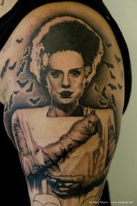 La fiancée de Frankenstein!
