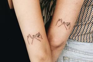 Tatouages entre soeurs