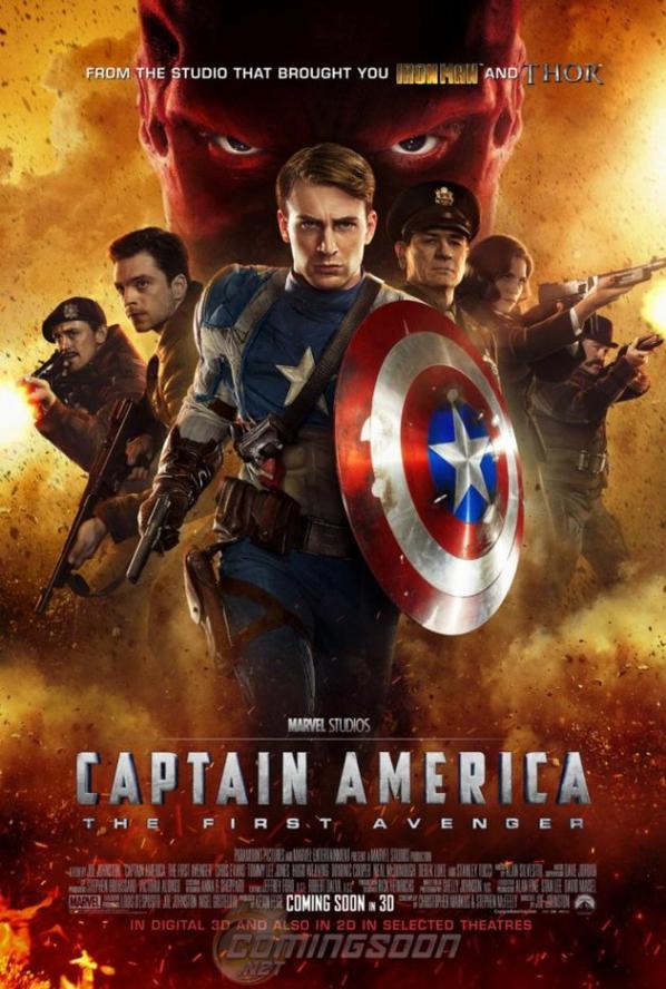 CAPTAIN AMERICA: the first Avengers (MCU)