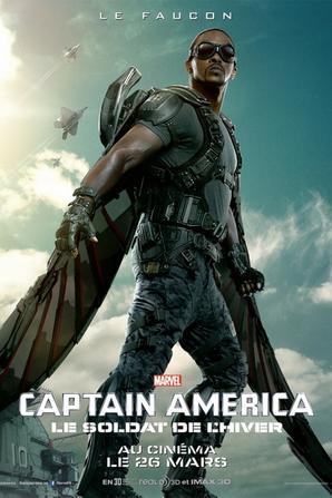 CAPTAIN AMERICA: winter soldier (MCU)