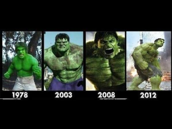LES DIFFERENTS HULKS