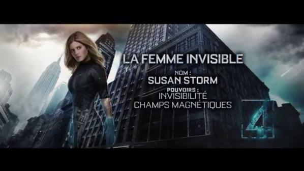 Kate MARA je la confirmerai bien en femme invisible