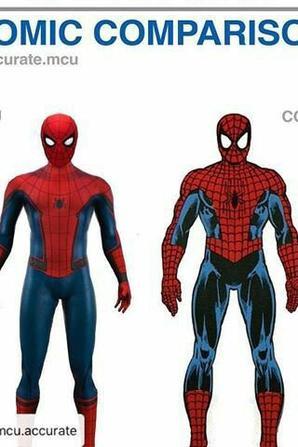 comparaison comic et MCU 1