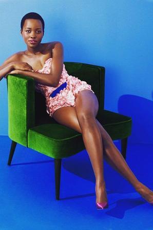 ATOUT CHARME BLACK PANTHER Lupita Nyong'o