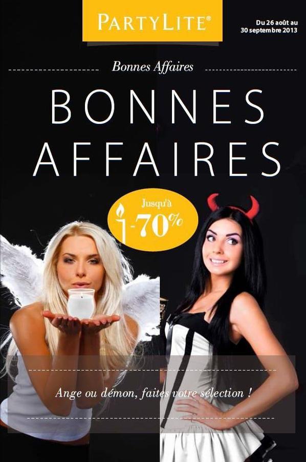 OFFRES BONNES AFFAIRES  accessibles dès 20 ¤ d'achat catalogue