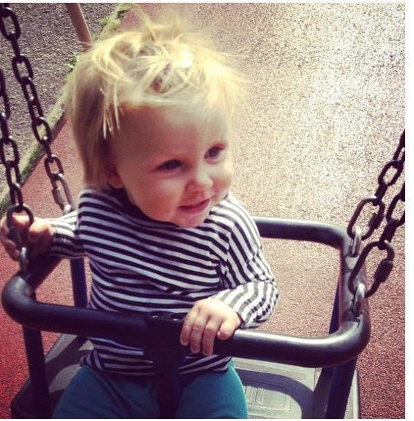 Baby lux today :)