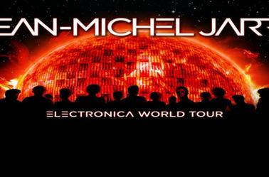 Jean Michel Jarre Electronica world Tour Visuels