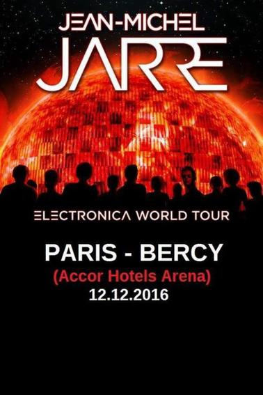 Jean Michel Jarre World Tour Europe
