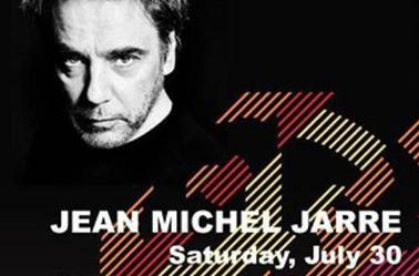Jean Michel Jarre concert au Liban le 30 Juillet
