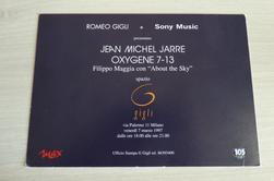 Plan Promo Espagne Italie album Oxygène 7/13