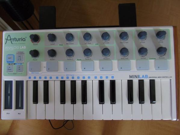Clavier Midi Arturia