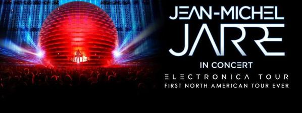Jean Michel Jarre Electronica North American Tour 2017