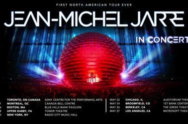 Jean Michel Jarre Electronica North American Tour 2017