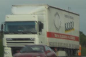 quelque camion croisé