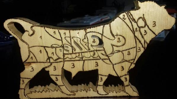 puzzle taureau