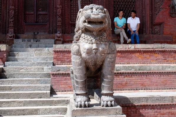 Inside Kathmandu Durbar Square